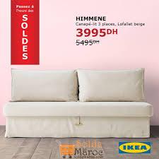 canapé lit promo promo ikea maroc canapé lit himmene les soldes et promotions du maroc