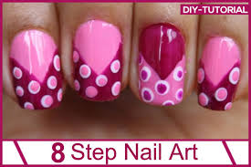 how to do nail art at home nail nail mani pedi and pink nails