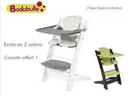 chaise volutive badabulle oclio chaise haute évolutive by badabulle chaise haute