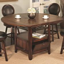 high dining room chairs u s furniture inc 2251 2252 round top pub table with storage base