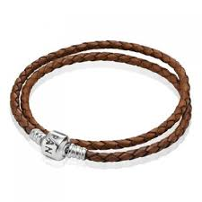 braided leather bracelet with charms images Pandora leather bracelets pandora bracelets charms cheap sale jpg