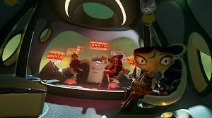 psychonauts in the rhombus of ruin is an evolution of adventure games