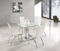 Small Glass Dining Tables And Chairs Dining Room Glazed Wall Design For Modern Dining Room Decor