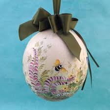 painted ostrich eggs for sale ostrich painted egg from austria susan s christmas shop