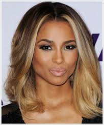 hair color light to dark hairstyles are light hair colors right for dark skin tones
