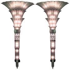 Art Glass Sconces 52 Best Art Deco Light Sconces Images On Pinterest Sconces Art
