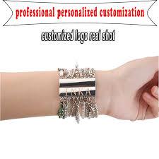 clasp cuff bracelet images Aziz bekkaoui fashion women jewelry wide bangle magnetic clasp jpg