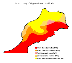 Mediterranean Climate Map Morocco Familypedia Fandom Powered By Wikia