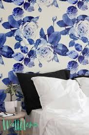 self adhesive wallpaper blue blue floral pattern self adhesive wallpaper floral wallpaper