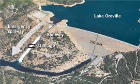 lake oroville timeline 100 million in damage evacuees returning