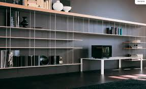 contemporary wooden metal bookcase bookcases pinterest