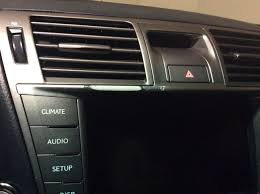 lexus interior trim interior trim piece peeling off what to do clublexus lexus