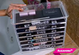 makeup organizer for visual people