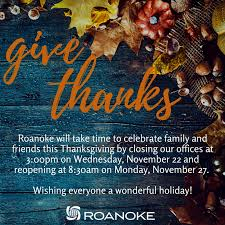 thanksgiving hours 2017 roanoke underwriting