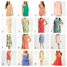 dresses to wear to a summer wedding casual chic cocktail attire festive summer wear clothes from