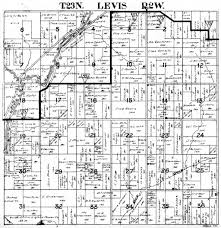 historic maps and transcriptions of levis township clark co wi