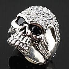 ring for men design toms desighn rakuten global market silver skull ring 925