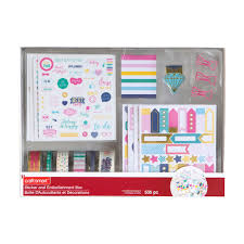 shop for the basic sticker u0026 embellishment box by craft smart at