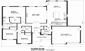 awesome 4 bedroom bungalow house plans canada house plan