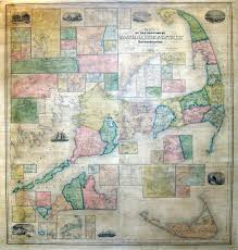 Map Of Massachusetts Counties by Graham Arader Map Of The Day U201cbarnstable Dukes And Nantucket