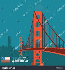 merry america stock vector 348697919