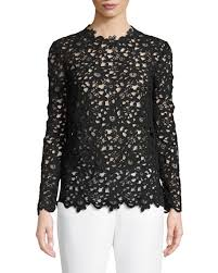 sleeve lace blouse valentino sleeve crocheted lace blouse
