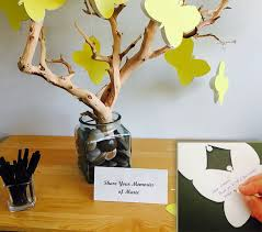 these yellow butterfly cards are a great way to memories and