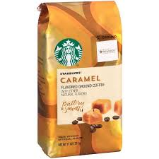 starbucks caramel flavored coffee with other flavor