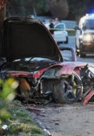 porsche gt crash was paul walker porsche 911 prone to catch in crash