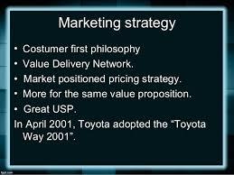 2001 toyota corolla value market segmentation of toyota corolla