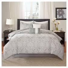 Paisley Comforters Devin Paisley Comforter Set King Gray 7pc Target