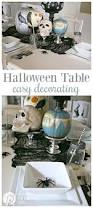 halloween dining table decorations best 20 halloween table ideas on pinterest halloween table