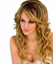elegant party hairstyles for long layered curly hair