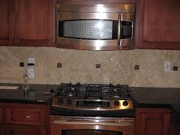 backsplash designs travertine tile black quartz and kitchen on