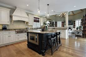 white kitchen with black island 143 luxury kitchen design ideas designing idea