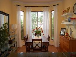 kitchen bay window curtain ideas curtain ideas for bay windows for large size three dimensions lab
