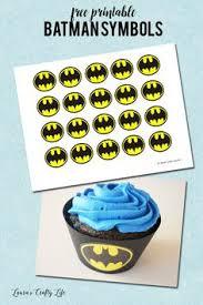 free printable lego batman cupcake toppers musings average