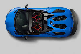 lamborghini aventador super veloce roadster 2016 the sv blows