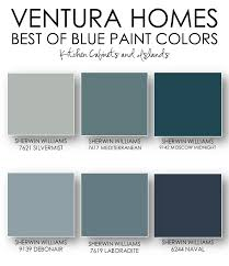 best blue for kitchen cabinets on the blog ventura homes best of blue paint colors sherwin