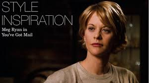 meg ryans hair in you got mail jaclyn day style inspiration meg ryan in you ve got mail