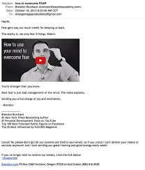 35 Top Personal Development Facebook - brendon burchard sales email to tumblr opt in fierce email