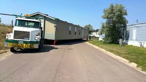 rocky mountain mobile home transport moving 16x80 youtube