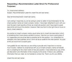 sample request letter recommendation employer cover letter sample