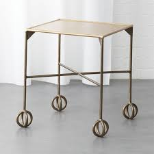 knot square side table cb2