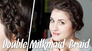 Hochsteckfrisurenen Mit D Nen Haaren by Frisuren Für Dünne Haare Milkmaid Braid Flechtfrisur