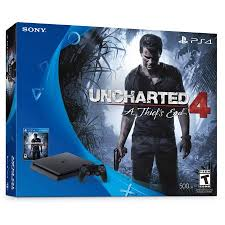 amazon black friday ps44 games playstation 4 slim 500gb uncharted 4 bundle black 3001504