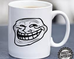 Troll Face Know Your Meme - doge mug etsy