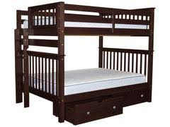 bunk beds full over full free shipping bunk bed king