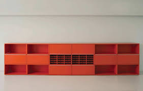 modular bookcase low contemporary commercial ma100