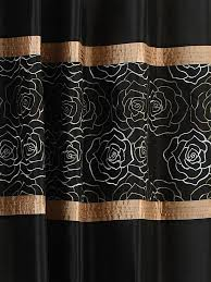 Black Eyelet Curtains 66 X 90 Black Passion Embellished Faux Silk Eyelet Curtains Curtains Uk